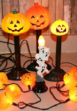 Mega Lot Vintage Blow Mold Halloween Jack-O-Lantern Ghost Candles JOL Mini Lite