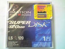 Imation LS-120 SuperDisk 120 MB Windows/Msdos formateado & Jewel Case-nos-V3