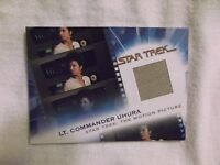 STAR TREK THE COMPLETE MOVIES MC6 UHURA COSTUME CARD #1538/1701 VG+ Nichols