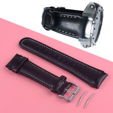 22mm PU Leather Watch Bracelet Watchband Replacement Fit for SUUNTO X-LANDER