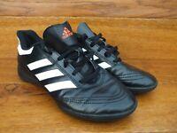 adidas Goletto Black Football Trainers  Size UK 5.5 EU 38.5