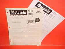 1953 1954 1955 INTERNATIONAL HARVESTER R TRUCK MOTOROLA AM RADIO SERVICE MANUAL
