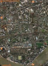 Inglaterra E1. Royal London Hospital tambien tabaco Dock Shadwell 2000 Mapa