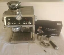 DeLonghi La Specialista Semi-Automatic Espresso Machine, Black * No Manual*