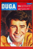 ANTHONY PERKINS ON FRONT COVER 1962 RARE EXYUGO MAGAZINE