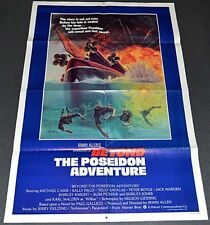 BEYOND THE POSEIDON ADVENTURE 1979 ORIG. MOVIE POSTER! IRWIN ALLEN DISASTER EPIC