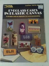 Eyeglass Cases in Plastic Canvas - Leisure Arts 1073 - 8 Projects