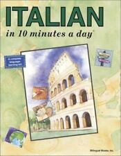 Italian in 10 Minutes a Day, 6th Edition, Kristine K. Kershul, , Book, Good