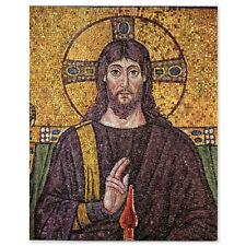 "Jesus Christ Mosaic Christian sticker decal 3"" x 4"""
