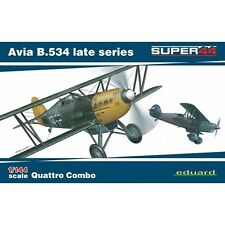 Eduard Models 4452 Avia B.534 Late Series Quattro Combo 1/144 Scale Model Kit