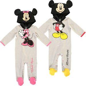 Baby Disney Mickey Minnie Romper Fancy Dress Costume Age 3 4 5 6 Month Boy Girl