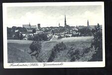 Ak Schlesien O. S. Frankenstein Gesamtansicht Feldpost 1941