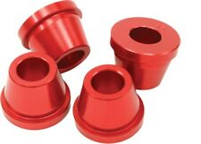 ZETA - ZE37-0331 - Rubber Killer Handlebar Aluminum Bushings, Red