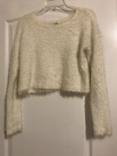 Hollister Juniors Ivory Sweaters for Women  4b5813709