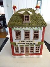 """RARE DEPT 56 DICKENS' SERIES RETIRED """"FEZZIWIG'S WAREHOUSE""""!! MINT IN BOX!!"""