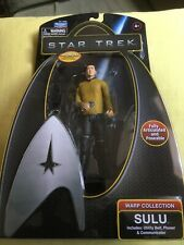 Star Trek Warp Collection Sulu Action Figure Doll New In Box