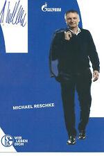 Autogrammkarte Michael Reschke Schalke 04 19/20 2019/20 DFB Bayern München RAR