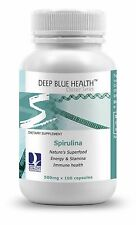 Spirulina (400 caps) 500mg From New Zealand. Express to the US available!