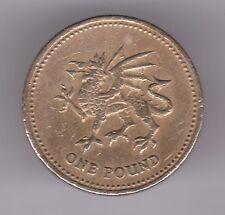 United Kingdom £1 Pound 2000 Nickel-Brass Coin - Welsh Dragon
