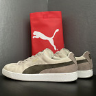 Puma Mens Suede Classic Plus 352634-40 Birch Lace Up Running Shoes Size 13
