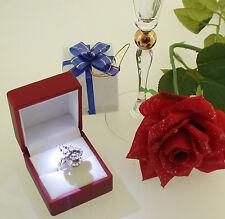 Ring 750 Gold blütenförmig Brillanten brilliant-cut diamonds 2,62 carat Gr. 56