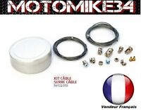 Kit Cables Serre CABLE et Barillet UNIVERSEL Gaz Embrayage 2 m scooter moto neuf