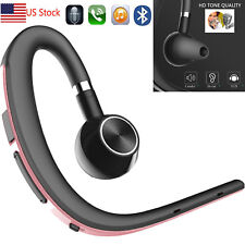 Wireless Bluetooth Headset Handsfree for Business Trucker Office Android Phones