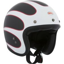 NEW BELL CUSTOM 500 CARBON ACE CAFE MOTORCYCLE CRUISER HELMET LARGE 7081006