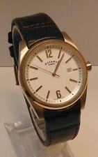 "Men's Rotary ""Havana"" Swiss Made Watch (Rose Gold) Rare Find"