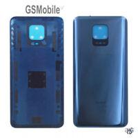Tapa Trasera Bateria Battery Back Cover Adhesivo Xiaomi Redmi Note 9 Pro Gris