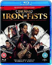 The Man With The Iron Fists (Blu-ray, 2013) FREE SHIPPING