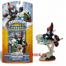 Skylanders Giants FRIGHT RIDER Figure Card Sticker Code 2012 NEW