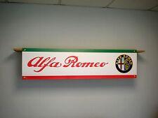 ALFA ROMEO officina o garage Striscioni, Giulietta, Mito, Brera, 147, 156, 159etc