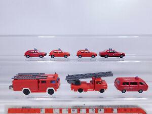 CP256-0, 5 #7x wiking H0 / 1:87 Model Fire / Fw: VW + BMW + Opel + Magirus Mint