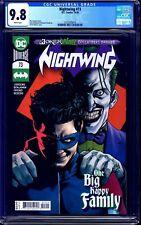 Nightwing #73 CGC 9.8 JOKER WAR COVER NM/MT