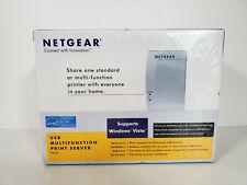 NETGEAR USB 2.0 Mini Print Server PS121 - New, Sealed - Free US Shipping