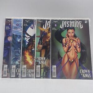 Jasmine Crown of Kings Issues 1-5 Comic Books Bundle 2 (#H1/19)