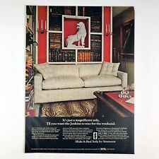 Simmons Hide A Bed Sofa Home Decor 1969 Photo Print Magazine Ad