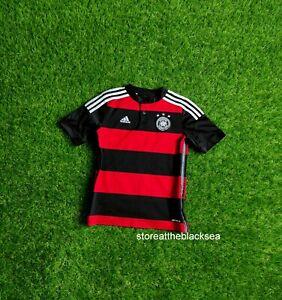 GERMANY NATIONAL TEAM 2014 2015 AWAY FOOTBALL SOCCER SHIRT JERSEY TRIKOT BOYS