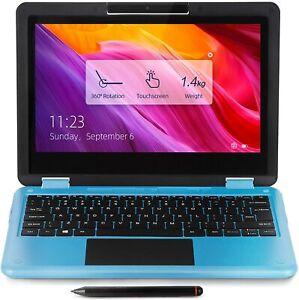 "11.6""  2-in-1 Convertible Touchscreen Laptop, 8GB RAM, 256GB SSD, Windows 10 S"