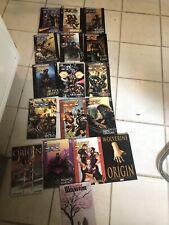 Marvel Comics Ultimate X-Men Vol #1-14 Oversized HC/DJ Book Lot Wolverine 1 &2