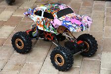 Custom Buggy Body Graffiti Pig for Redcat Rockslide / Everest 1/10 Crawler