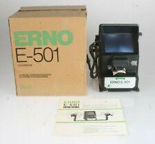 Erno E-501 Filmbetrachter, neuwertig in OVP mit Anleitung