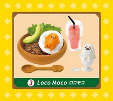 NEW! Re-Ment Miniature Sanrio Gudetama Cafe egg restaurant RARE No.03