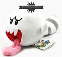 SUPER MARIO BROS. BOO RACCOON PELUCHE new plush ghost fantasma pupazzo Tanooki