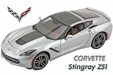 Maisto 1:18 2014 Corvette Stingray Z51 Special Collectors Edition. Silver
