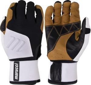 1 Pair 2021 Marucci MBGBKSMFW Blacksmith Batting Gloves Adult Various Sizes