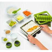 New Sushi Maker Kit Rice Roll Mold Kitchen DIY Easy Chef Set Mould Roller