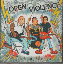 Open Violence-Rock n Roll Blitzkrieg CD Oi!Oi!Oi! Skin Way of Life/Streetpunk