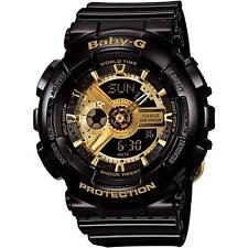 Casio Watch Baby-G BA-110-1A Big Case Series Black Gold Women's *Japan New
